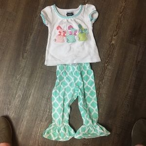 Mud pie Easter outfit size 0-6 months